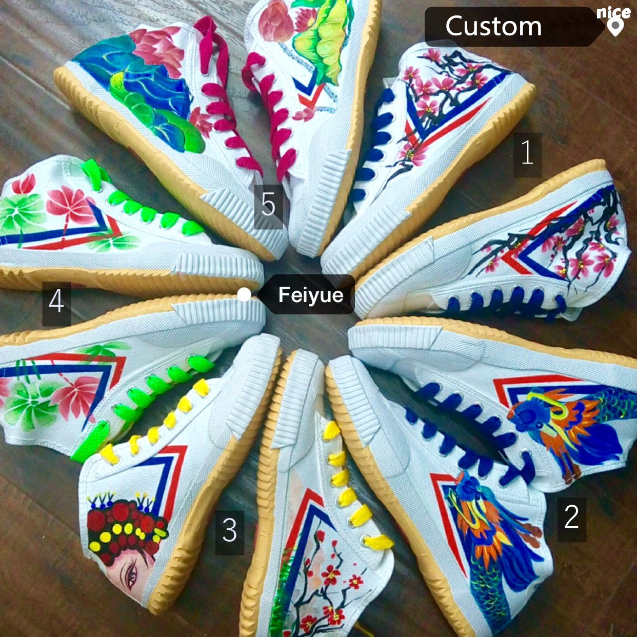 Custom Feiyue Shoes