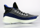 Anta Men's 2019 Klay Thompson KT4 Playoffs Basketball Sneakers - Blue/Black