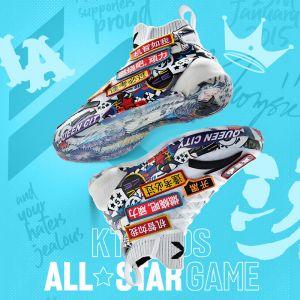 "Anta Kids Klay Thompson KT4 All Star ""Signal"" Sneakers-White"