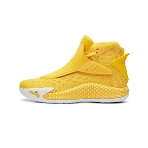 """Anta 2019 Klay Thompson KT5 """"Gold"""" Men's Limited Basketball Shoes - Yellow/White"""