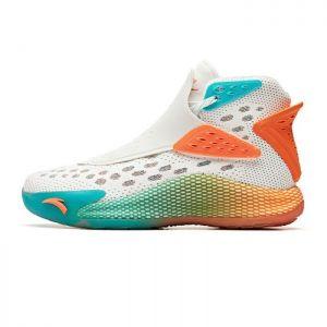 "Anta 2020 Klay Thompson KT5 ""Halloween"" Men's Limited Basketball Shoes - White/Orange/Blue"